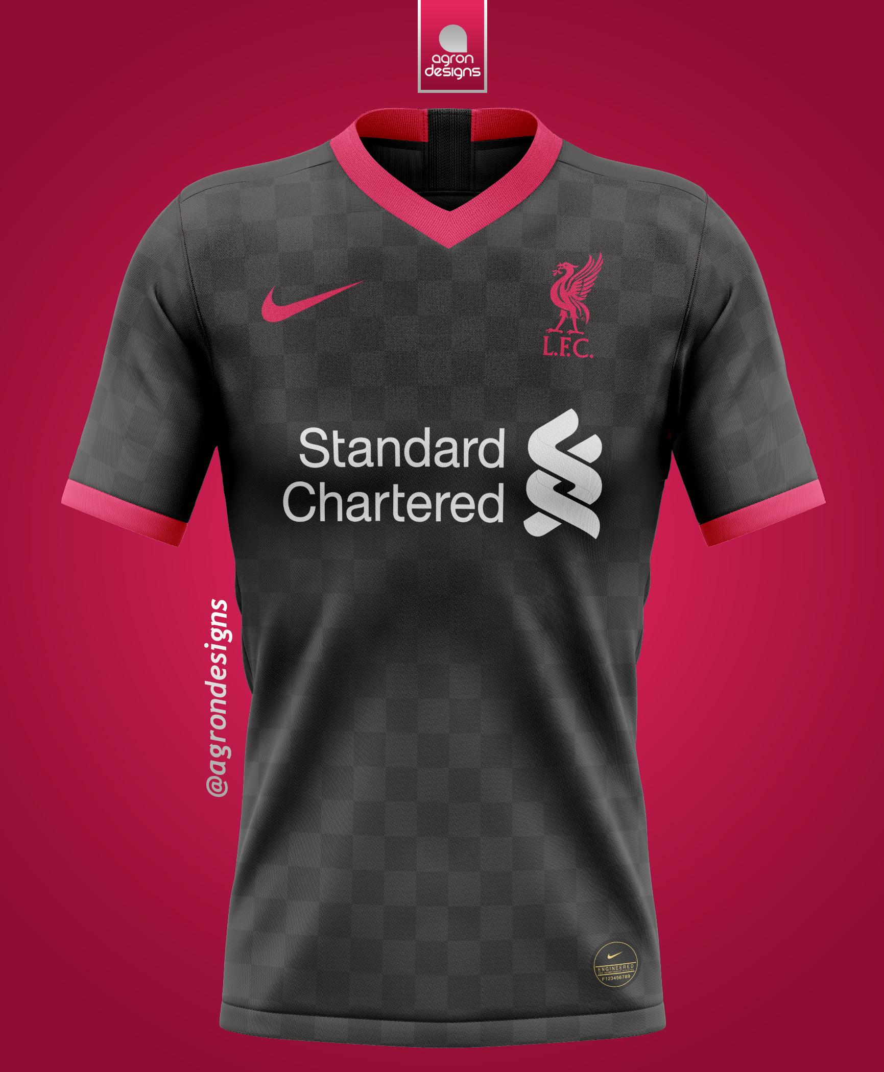 Nike Liverpool 2020 21 Third Kit V4