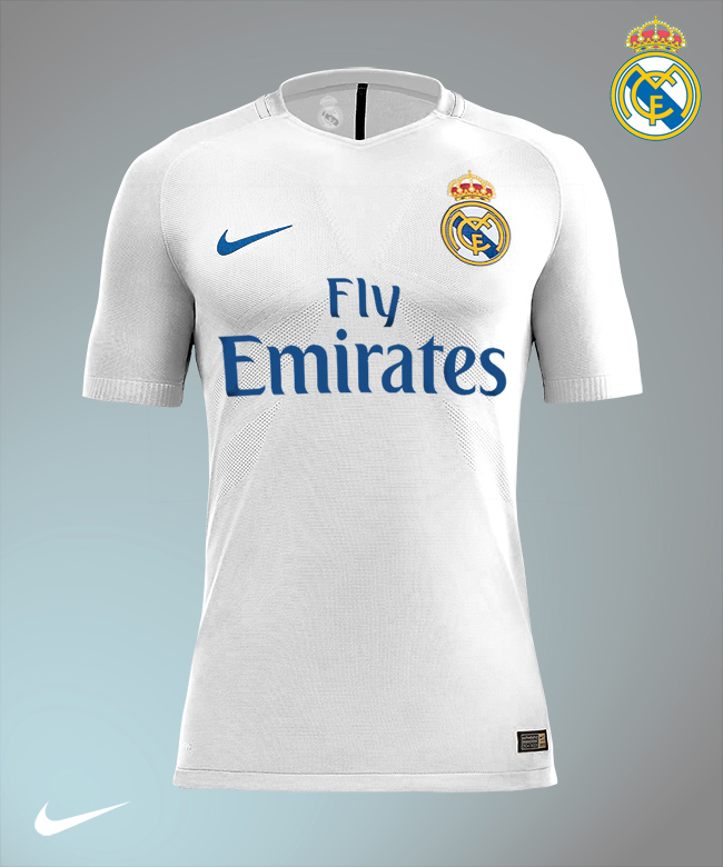 innovative design 33938 bc53f Real Madrid by Nike