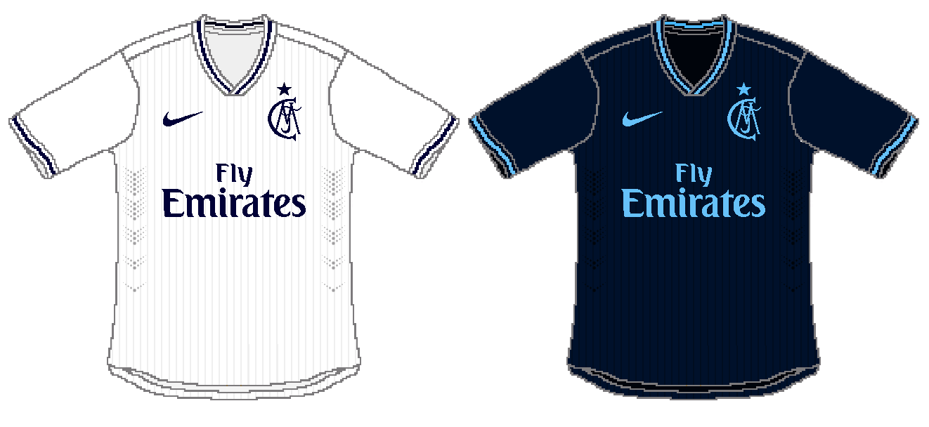 88464ce0d00 Real Madrid Nike Home and Away