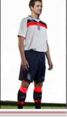 Fake England Kit on YouTube