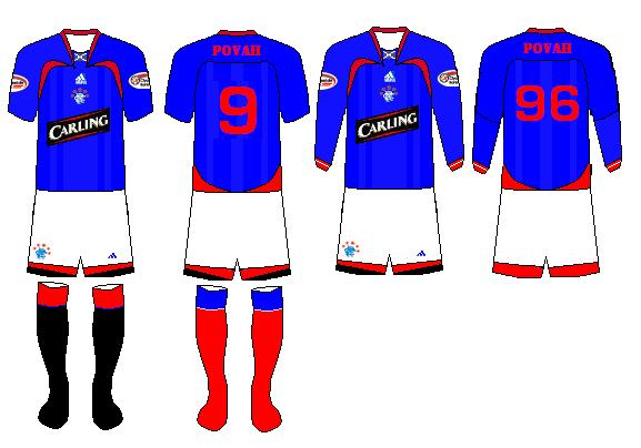 rangers fc home and away
