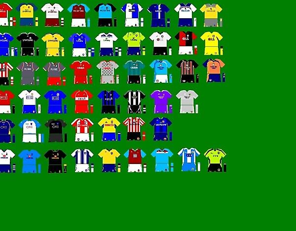 Premier League Kits 08/09