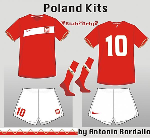 Poland away kit 1