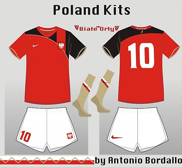 Poland away kit 2