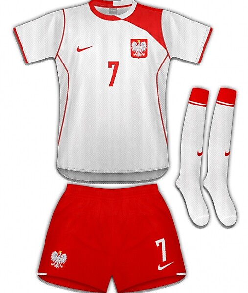 Poland/Nike Home Kit