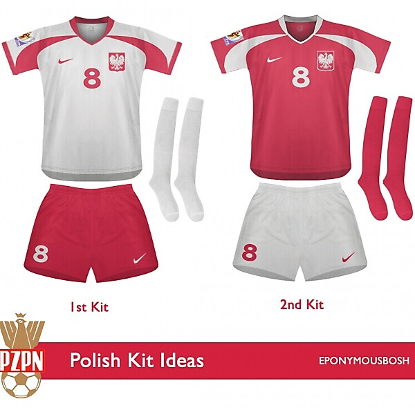 Poland 1st and 2nd Kits
