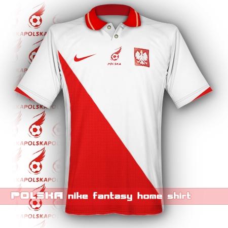 Polska nike home shirt