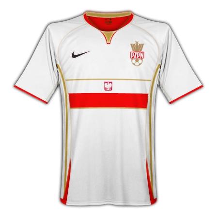 Poland 08/09 Nike Away Kit