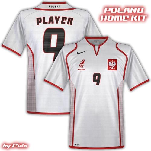 Poland Nike Kits