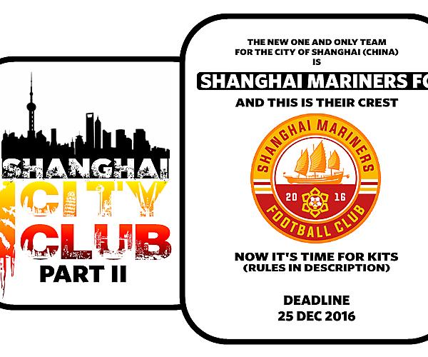 1 CITY 1 CLUB - SHANGHAI - PART II - KITS