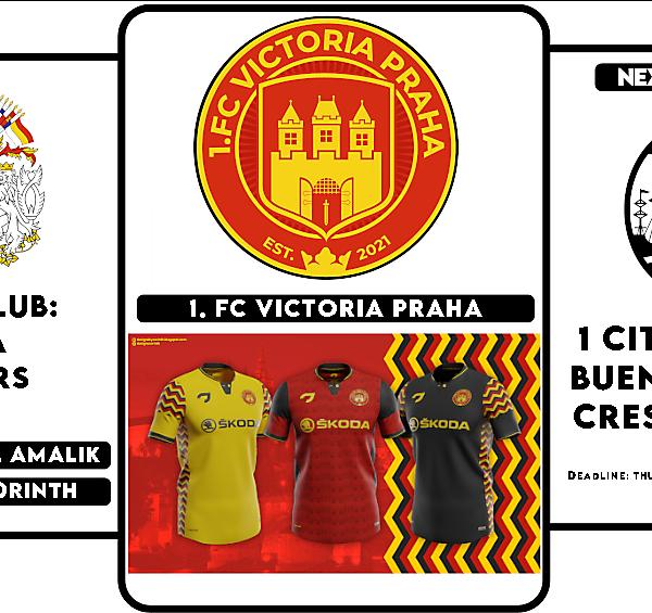 1 CITY 1 CLUB - WINNERS & NEXT ROUND - BUENOS AIRES- CREST DESIGN