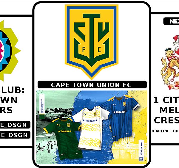 1 CITY 1 CLUB - WINNERS & NEXT ROUND - MELBOURNE - CREST DESIGN