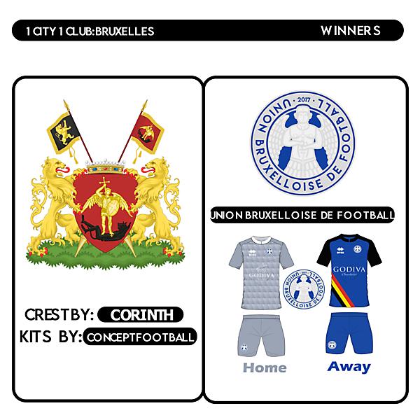 1 CITY 1 CLUB | BRUSSELS | WINNERS