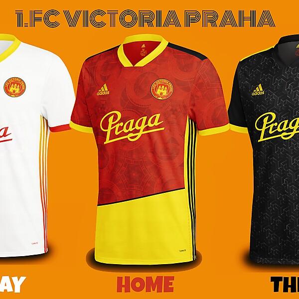 1.FC Victoria Praha Kits Concept