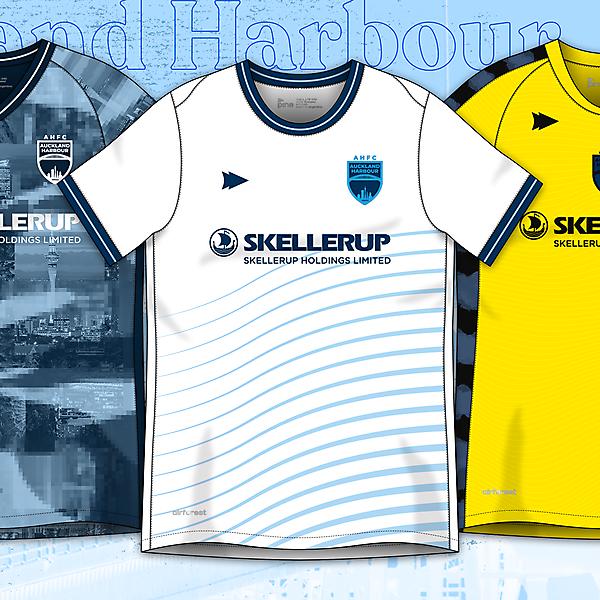 Auckland Harbour FC H, A, T x Pine