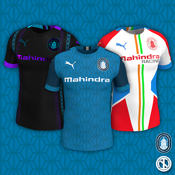 Bombay Victorians | Home, Away and Third Kits