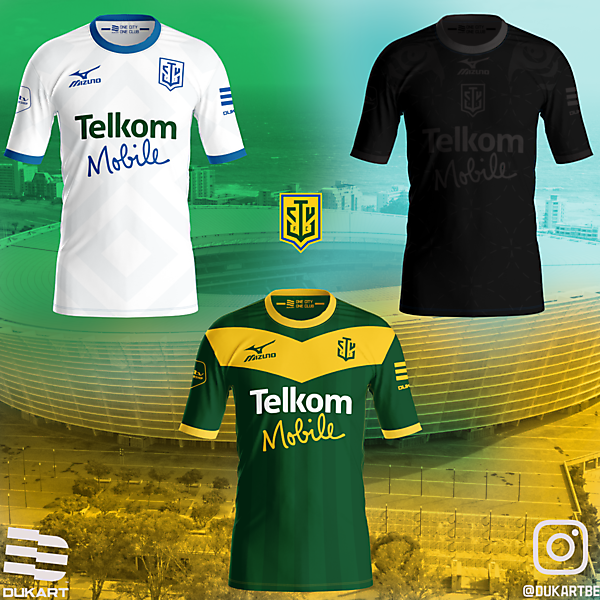 Cape Town Union FC Kits