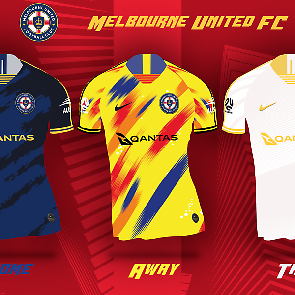 Melbourne United FC | Concept Kits