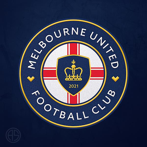 Melbourne United FC Crest