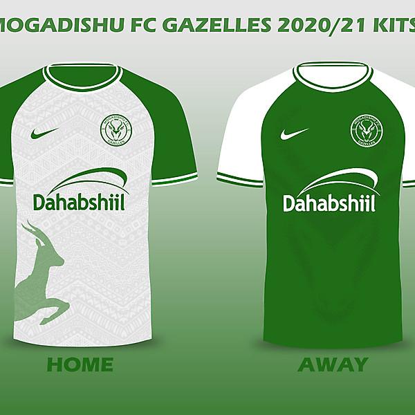 Mogadishu FC Gazelles Kits