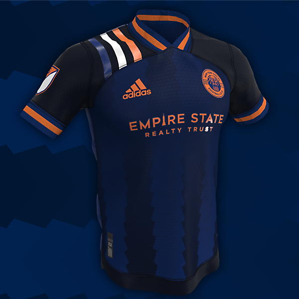 New York Empire   Home, Away and Third Kits