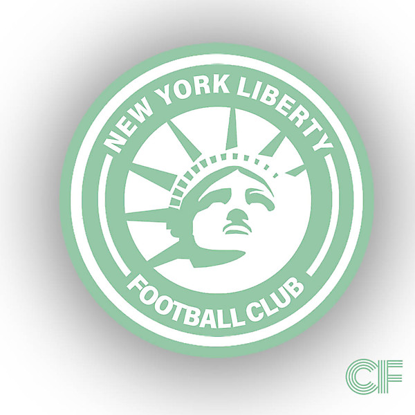 New York Liberty Crest Concept