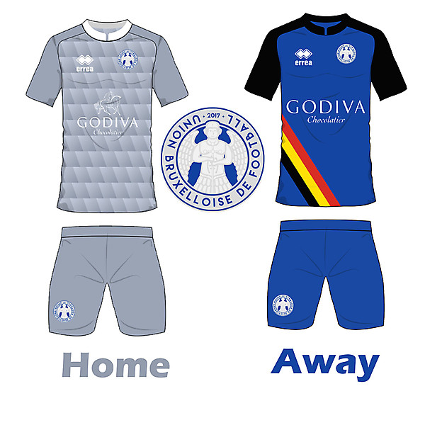 Union Bruxelloise de Football Kits