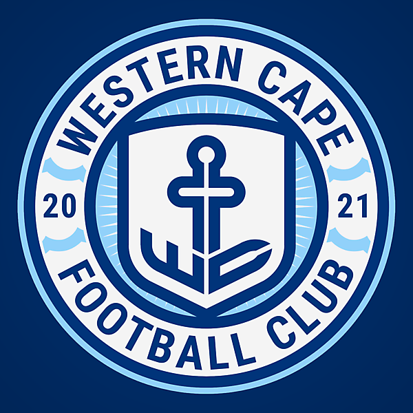 Western Cape FC | Crest Design