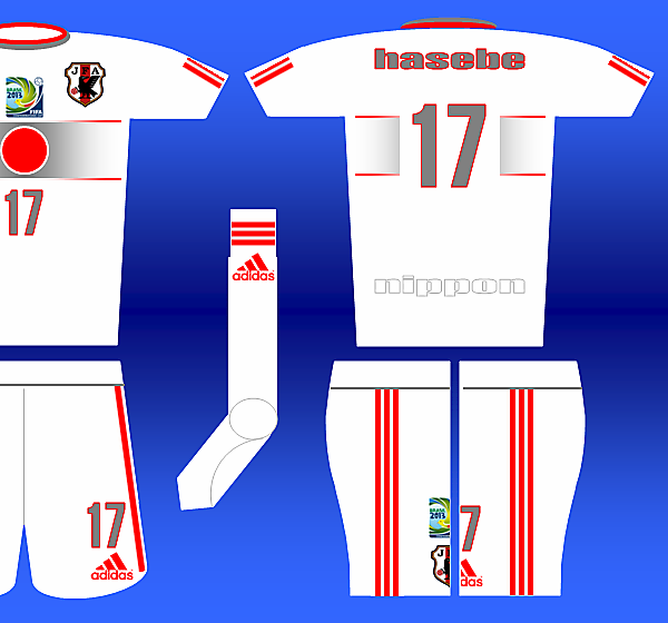 Adidas Fantasy Kit - Japan Away