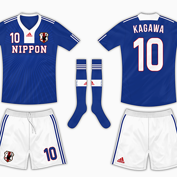 2013 Confederations Cup : Japan Kit Competition (closed)