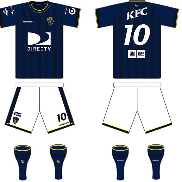 Independiente Del Valle (Ecuador) Home Kit