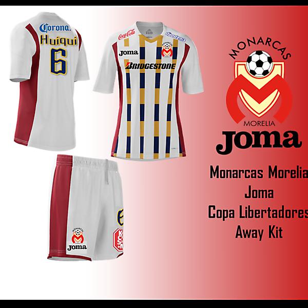 Joma - Monarcas Morelia Away Kit