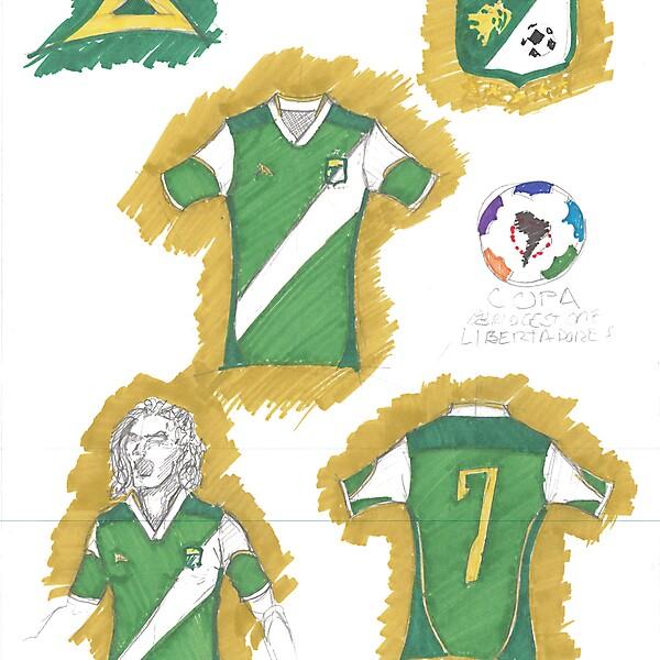 Leon Home Jersey - Libertadores