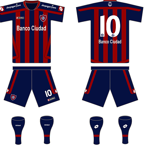 San Lorenzo(ARG) Home kit