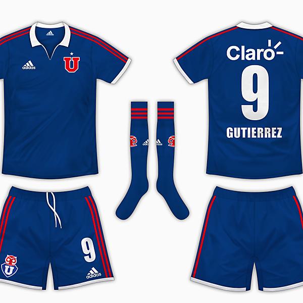 Universidad de Chile Home Kit - Adidas
