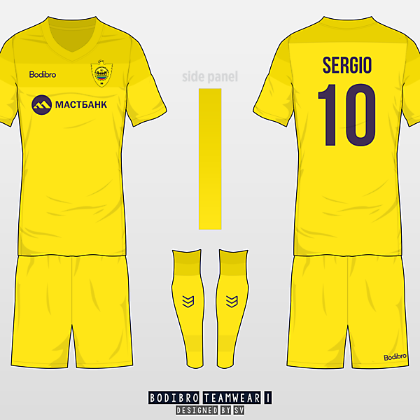Anzhi - Bodibro SV Teamwear I