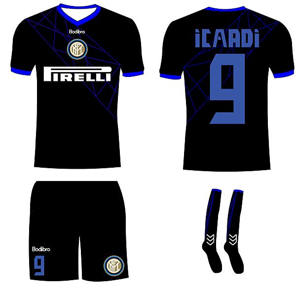 Inter Milan Away- Bodibro Hazard Template