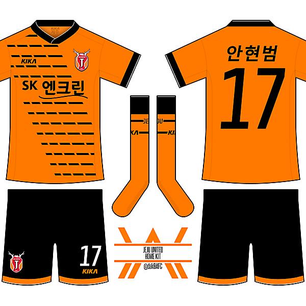 Jeju United Home Kit