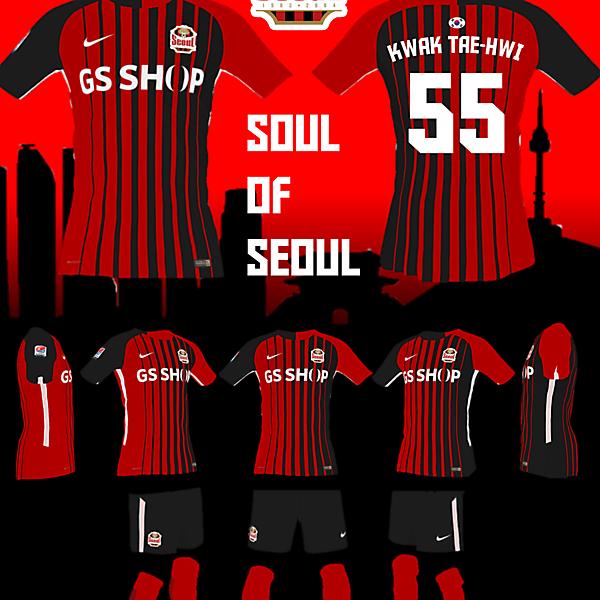 FC Seoul Home Kit - Soul of Seoul