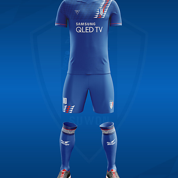 Suwon Samsung Bluewings home kit by @7oniky