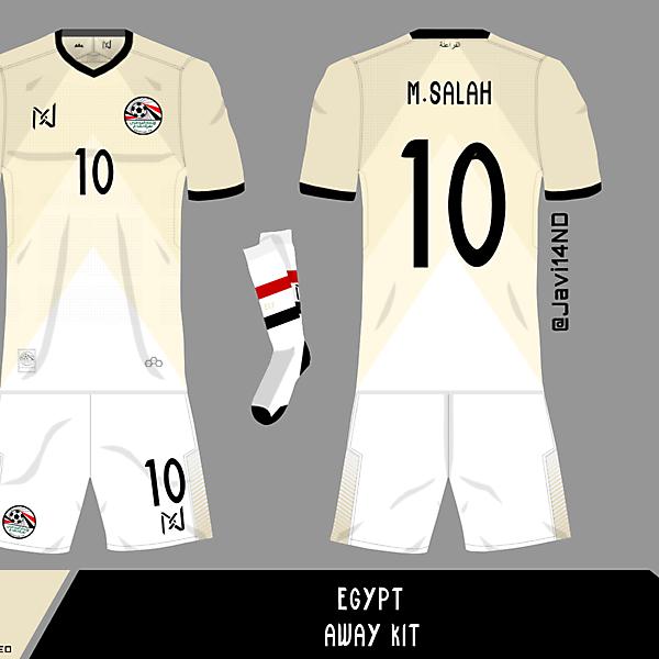 Egypt Away Kit   By @Javi14Nd