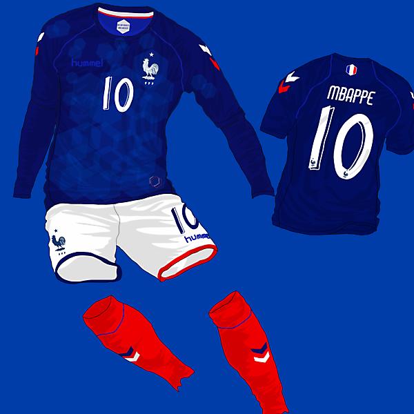 France Home Kit - Hummel