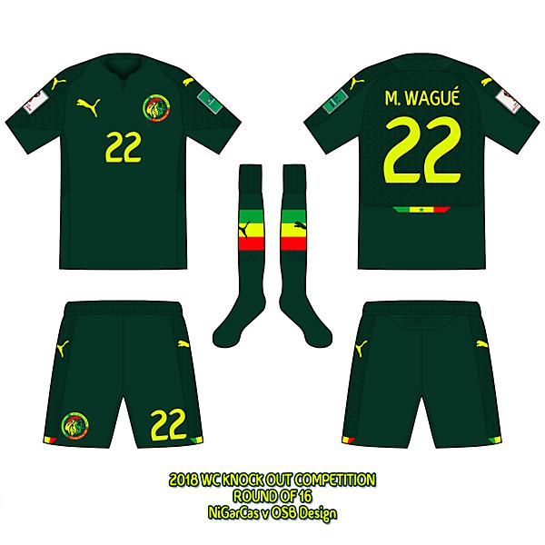 Senegal - Away kit