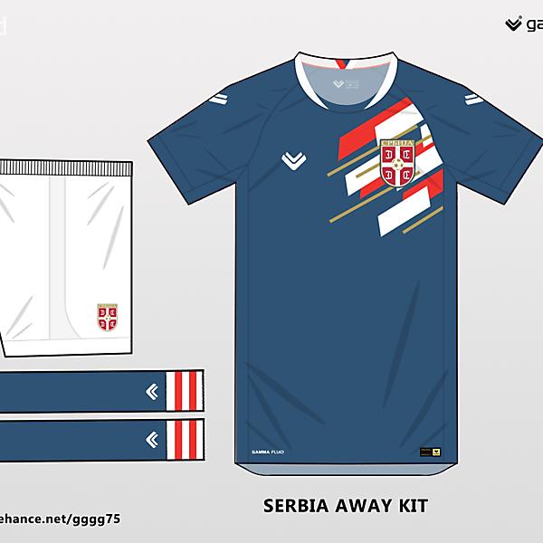 Serbia away kit