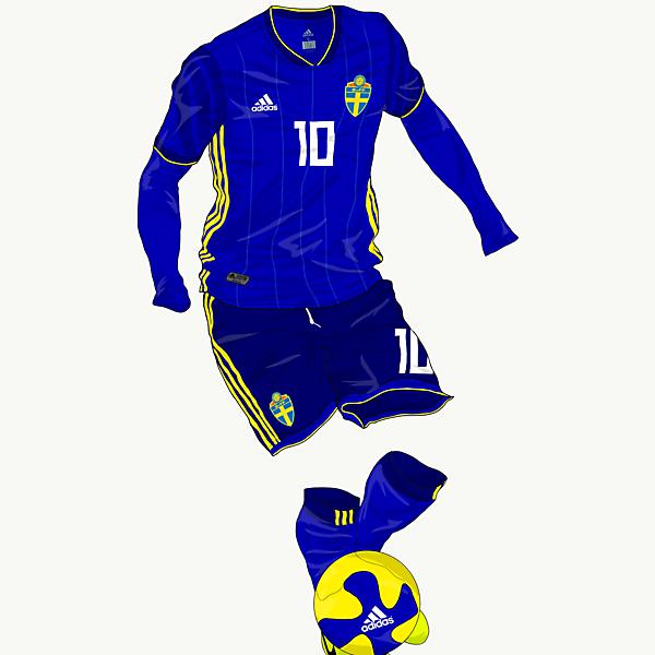 Sweden away kit