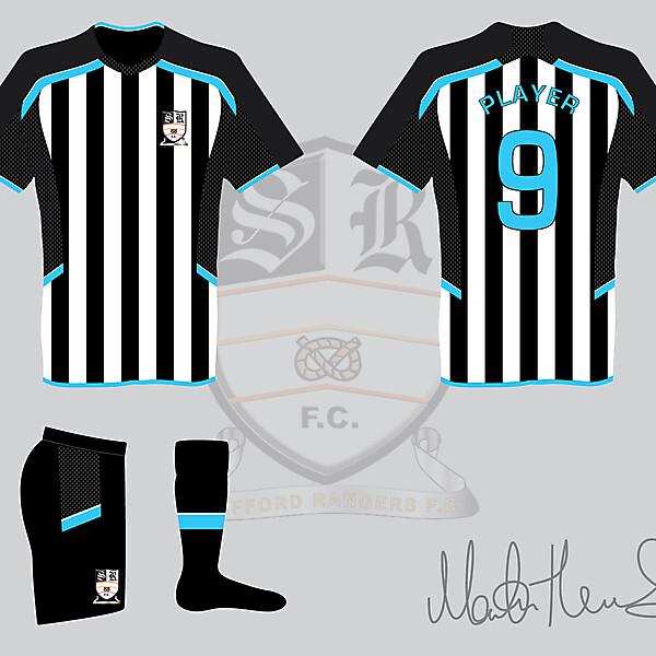 Stafford Rangers FC Home Kit - Martin Thomas Design