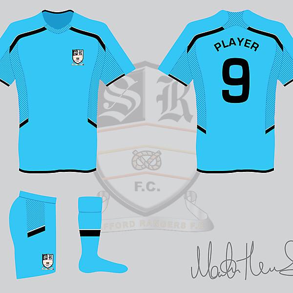 Stafford Rangers FC Away Kit - Martin Thomas Design