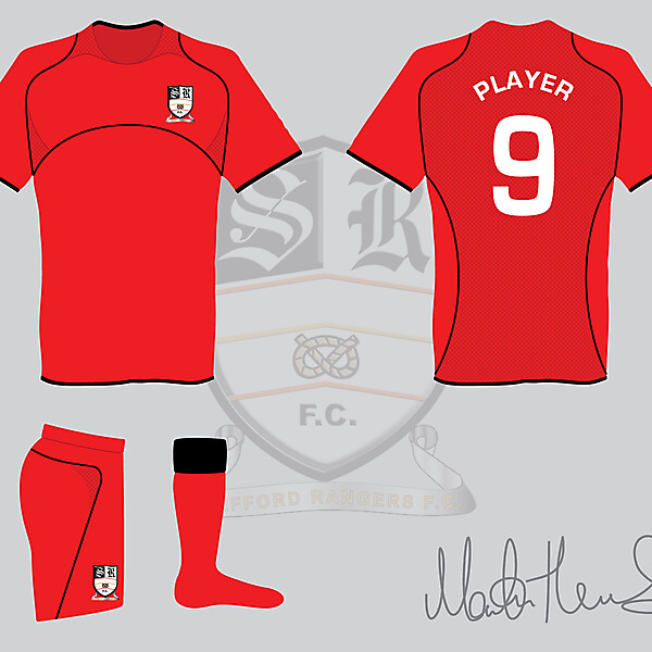 Stafford Rangers FC Away Kit #2 - Martin Thomas Design