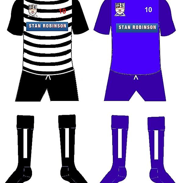 Stafford Home/Away Kits