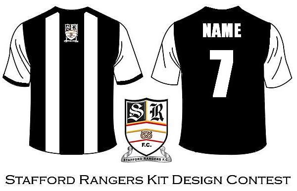 Stafford Rangers Home Shirt